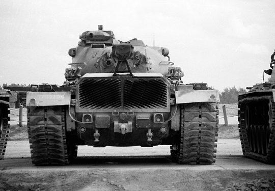 Bundeswehr Heer M48 PATTON Kampfpanzer Grafenwöhr 1967