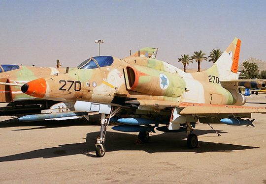 Israeli Air Force IAF Douglas A-4 Skyhawk / Ayit