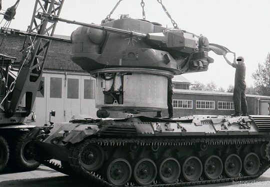 Bundeswehr Heer Flugabwehrkanonenpanzer Gepard