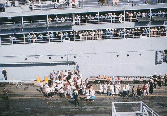 USA Korea-Krieg / Korea War – USMC United States Marine Corps 1st MARINE DIVISION - San Diego 22.04.1955