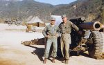 Korea-Krieg / Korean War - Schwere Feldhaubitze M114 - M1 155 mm / Heavy Howitzer M114 - M1 6.1 Inch