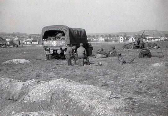 Flugabwehrkanone USA 2. Weltkrieg Bofors 40 mm