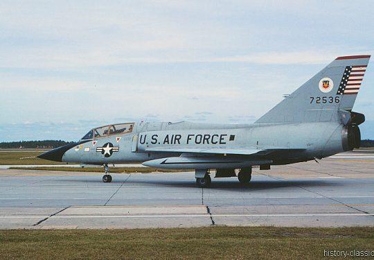 USAF Convair F-106B Delta Dart