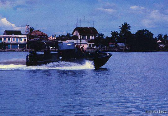 USA Vietnam-Krieg / Vietnam War - PBR Patrol Boat River - MEKONG DELTA