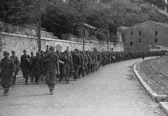 Wehrmacht Soldaten in alliierter Kriegsgefangenschaft / German Soldiers as POW