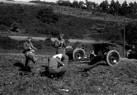 Wehrmacht Heer Panzerabwehrkanone PAK 36 37 mm / 3,7 cm