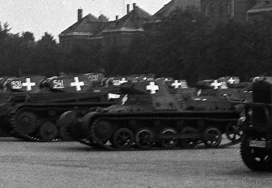 Wehrmacht Heer Panzerkampfwagen I PzKpfw I Panzer I Ausf. B