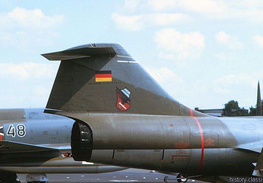 Bundeswehr Luftwaffe Lockheed F-104G Starfighter