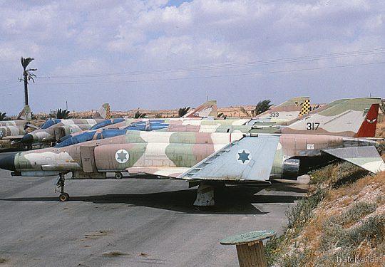 Israeli Air Force IAF McDonnell Douglas F-4E Phantom II / Kurnass