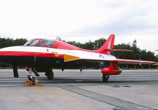 ROYAL AIR FORCE Hawker Hunter T.7