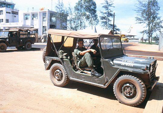 US ARMY / United States Army  Geländewagen / Jeep Ford M151 MUTT - USA Vietnam-Krieg / Vietnam War