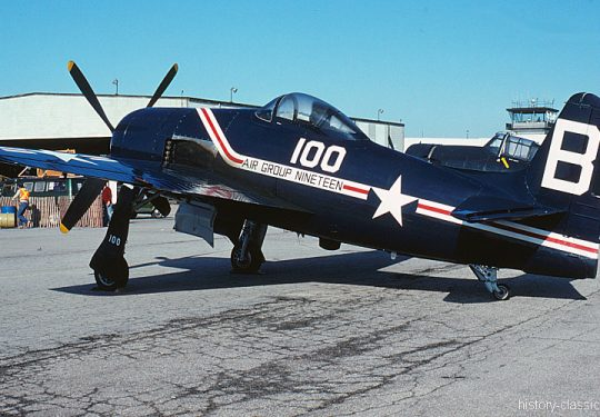 US NAVY United States Navy Grumman F8F Bearcat