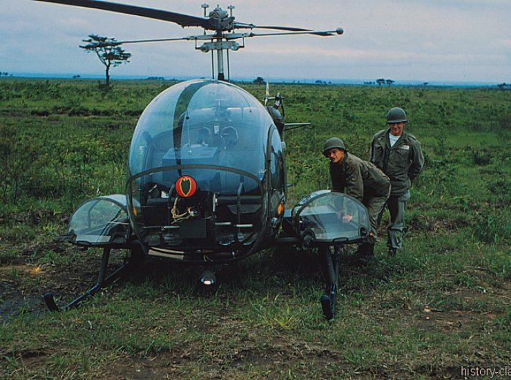 US ARMY / United States Army Riku Highway O-Joe Japan - Bell H-13 MASH