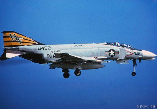 US NAVY / United States Navy McDonnell Douglas F-4J Phantom II
