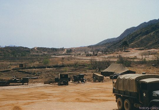 USA Korea-Krieg / Korea War – Camp