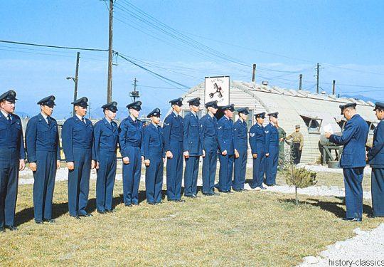USA Korea-Krieg / Korea War - Pusan East (K-9) Air Base - 34th Bomb Squadron