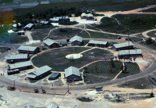 USA Vietnam-Krieg / Vietnam War - Camp SEABEE