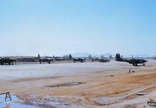 USAF United States Air Force Douglas B-26 Invader - Korea Krieg  / Korea War