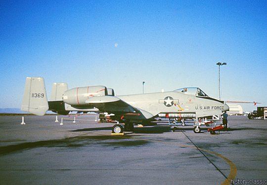 USAF United States Air Force Fairchild Republic YA-10A Thunderbolt II