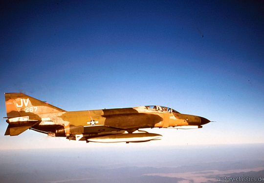 USAF United States Air Force McDonnell Douglas F-4E Phantom II