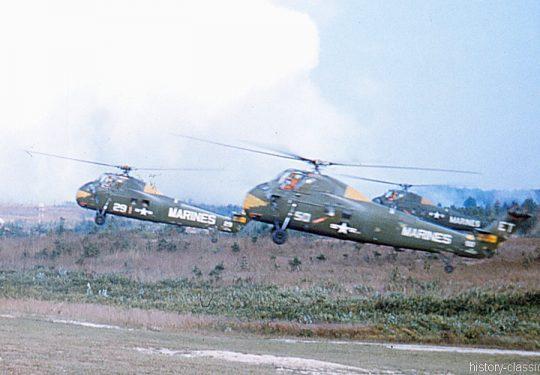 USMC United States Marine Corps Sikorsky HUS-1 / UH-34D / S-58 Seahorse