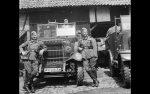 Wehrmacht Heer Halbkettenfahrzeug Beutefahrzeug (Frankreich) Unic P 107