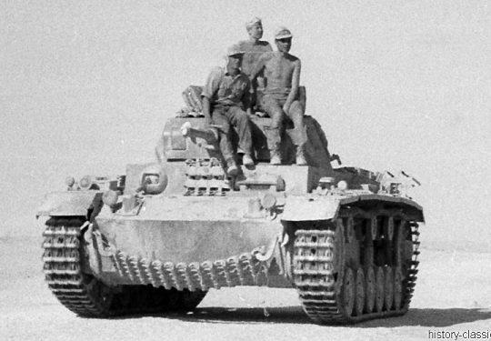 Wehrmacht Heer Panzerkampfwagen III PzKpfw III Panzer III - Nordafrika Deutsches Afrikakorps
