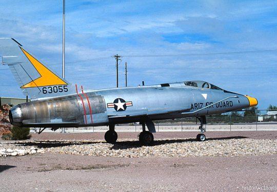 USAF United States Air Force North American F-100D Super Sabre