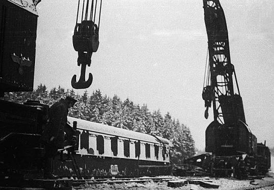 Deutsche Reichbsbahn Bergung / Instandhaltung