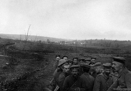 1. Weltkrieg Deutsches Heer - Offene Stellungen
