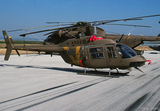 Israeli Air Force IAF Bell 206 Jet Ranger / Saifan