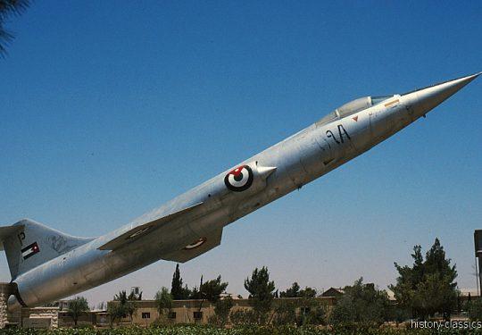Jordanische Luftwaffe Lockheed F-104A Starfighter