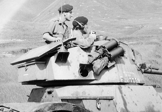 British Army Daimler Armoured Car