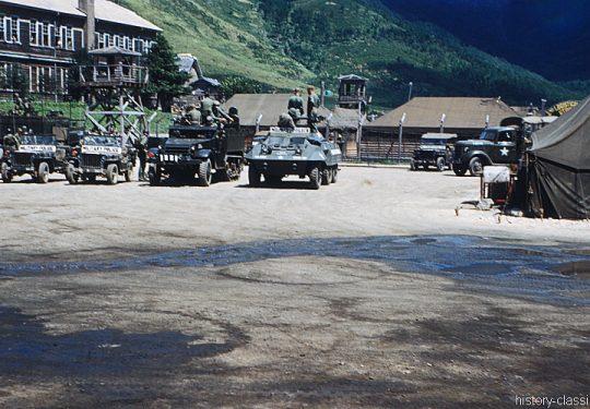 US ARMY / United States Army Jeeps/LKW`s/KleinPanzer - Militärpolizei / Military Police