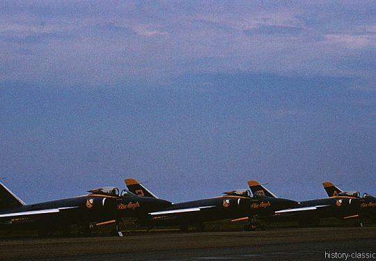 US NAVY / United States Navy Grumman F11F Tiger - Blue Angels