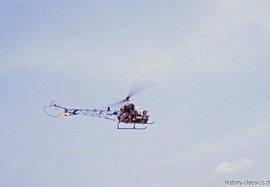 US ARMY / United States Army  / United States Army  Bell H-13 Sioux - USA Vietnam-Krieg / Vietnam War