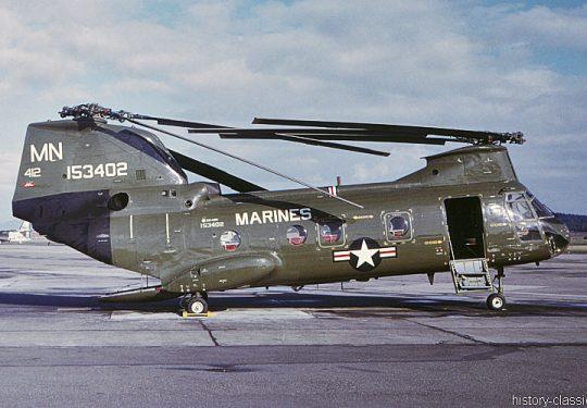 USMC Unites States Marine Corps Boeing-Vertol CH-46D Sea Knight