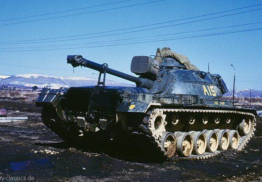 USMC United States Marine Corps Kampfpanzer M48 Patton