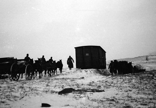 Wehrmacht Heer Armeepferde Pferdegespanne – Versorgung / Transport