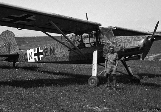 Wehrmacht Luftwaffe Fieseler Fi 156 Storch -Deutsches Afrikakorps DAK / Heeresgruppe Afrika