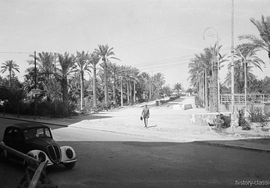 Wehrmacht Heer Deutsches Afrikakorps DAK / Heeresgruppe Afrika - Hinter der Frontlinie