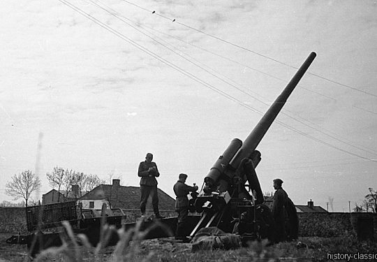 Wehrmacht Heer Feldkanone K39 15 cm