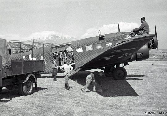 Wehrmacht Luftwaffe Junkers Ju 52