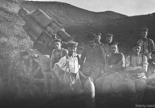 1. Weltkrieg Deutsches Heer - Artillerie