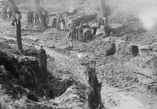 1. Weltkrieg Deutsches Heer - Stellungskriege