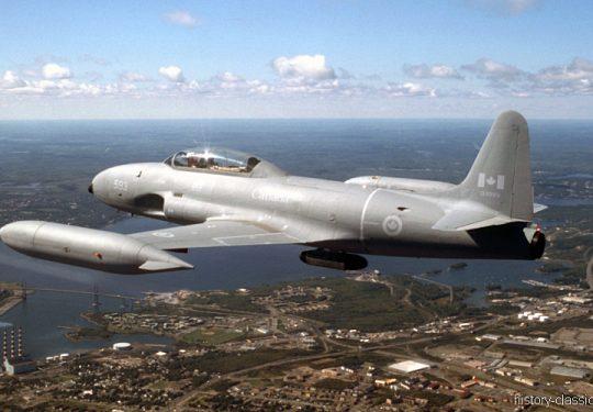 RCAF Royal Canadian Air Force Canadair CT-133 Silver Star