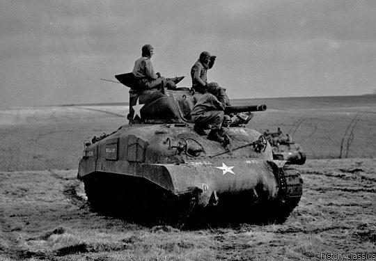 US ARMY / United States Army Kampfpanzer M4A2 Sherman
