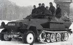 Wehrmacht Heer / Luftwaffe Halbkettenfahrzeug Schützenpanzerwagen Sd.Kfz.  251/1