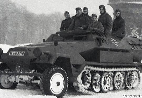 Wehrmacht Heer Halbkettenfahrzeug Schützenpanzerwagen Sd.Kfz. 251/1