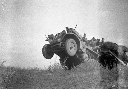 Wehrmacht Heer DEMAG Sd.Kfz 10/4 Halbkettenfahrzeug / Zugkraftwagen 1t